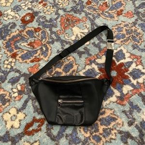 JOY LAB Black Fanny Pack / Crossbody Bag